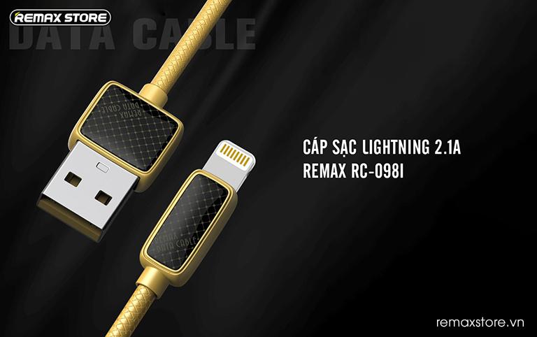 Cáp sạc Lightning Remax RC-098i 13