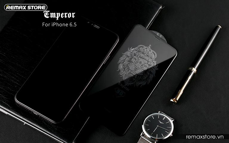 Kính cường lực iPhone 5.8 (X)/6.1/6.5 full màn 9D Remax GL-32 8