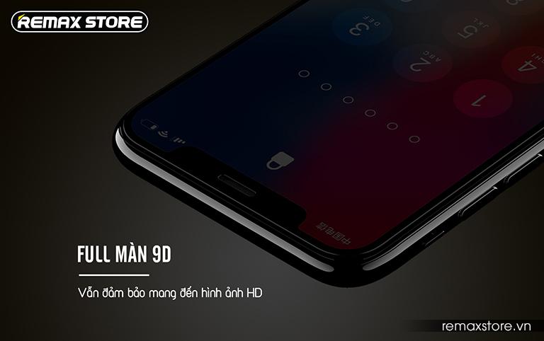 Kính cường lực iPhone X full màn 9D chống nhìn trộm Remax GL-35 (5)