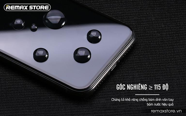 Kính cường lực iPhone X full màn 9D chống nhìn trộm Remax GL-35 (6)