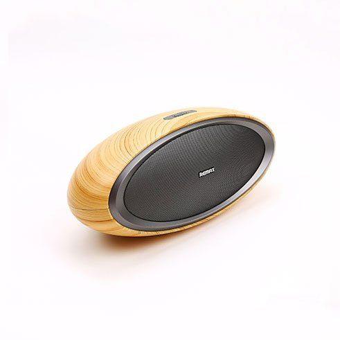 Loa Bluetooth vân gỗ độc đáo Remax RB - H7