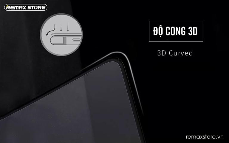 Kính cường lực 3D cho iPhone X/XS/XR/XS Max viền PET độ cong 3D
