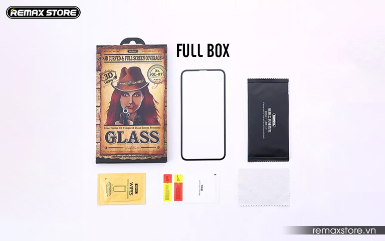 Kính cường lực 3D cho iPhone X/XS/XR/XS Max full box
