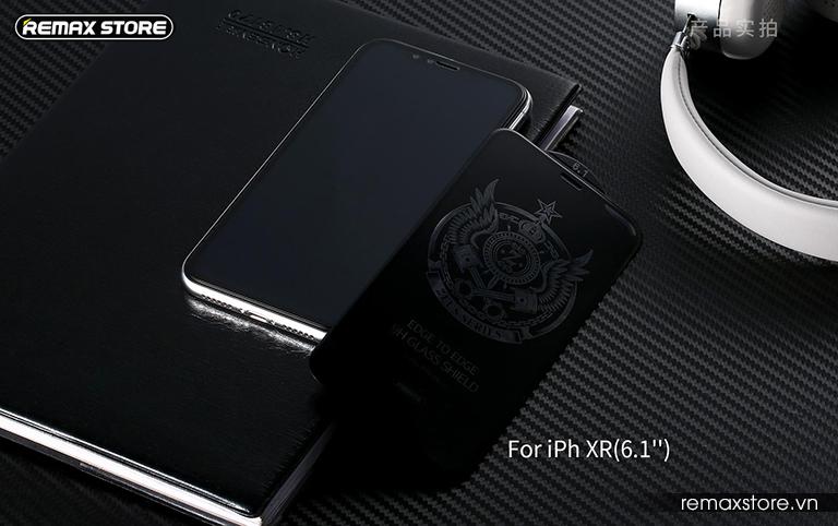 Kính cường lực full màn 6D cho iPh XR/XS Max - Ảnh 6