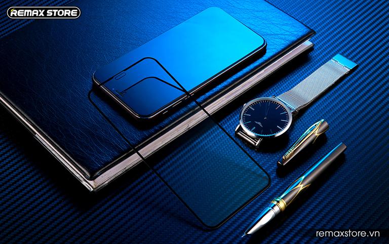 Kính cường lực full màn 9H dành cho iPhone XR/XS Max Perfect Series - ảnh 11
