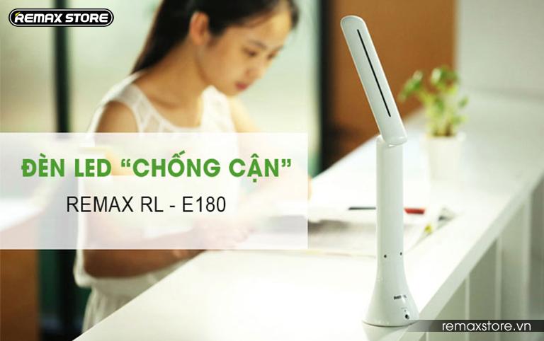 Đèn led cảm ứng chống cận gập gọn 180 độ Remax RL - E180 - 1