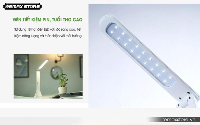 Đèn led cảm ứng chống cận gập gọn 180 độ Remax RL - E180 - 7