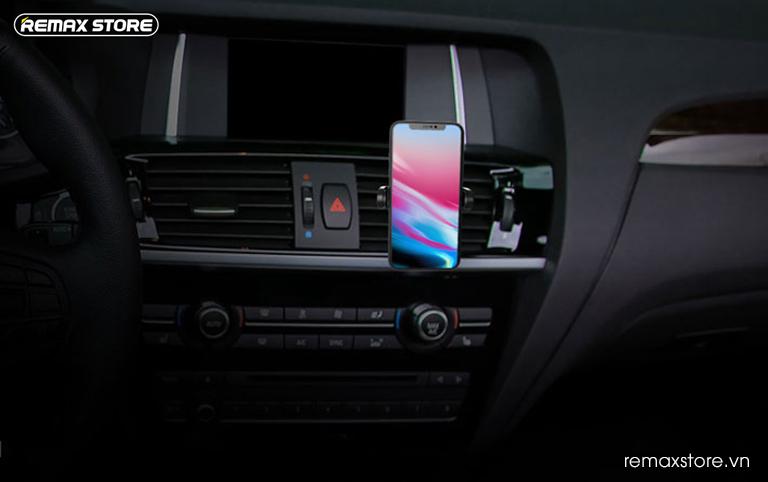 Giá đỡ điện thoại trên ô tô Remax RM-C32 - 11