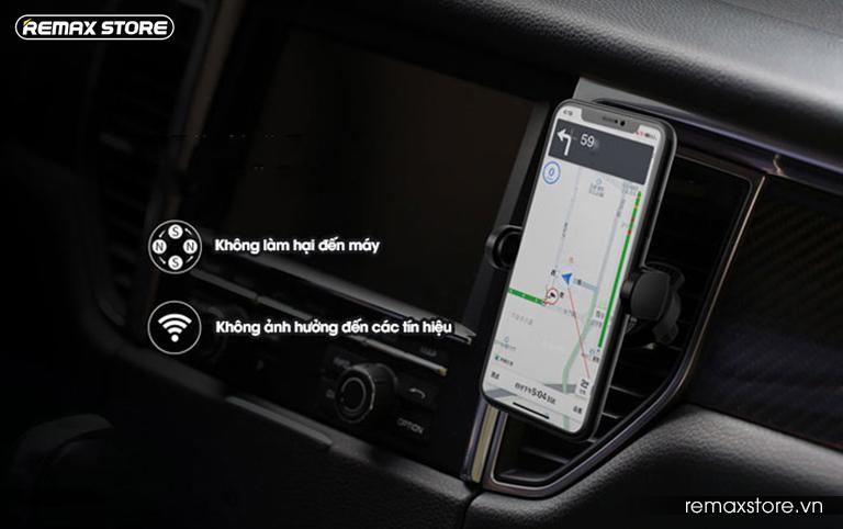 Giá đỡ điện thoại trên ô tô Remax RM-C32 - 8