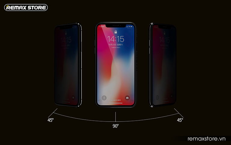 Kính cường lực chống nhìn trộm Emperor Series cho iPhone XR/XS Max - Ảnh 3