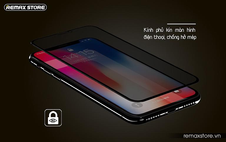 Kính cường lực chống nhìn trộm Emperor Series cho iPhone XR/XS Max - Ảnh 8