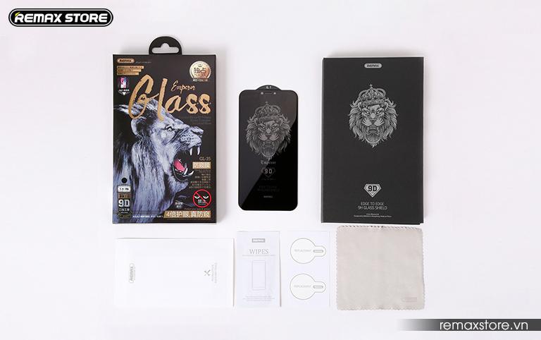 Kính cường lực chống nhìn trộm Emperor Series cho iPhone XR/XS Max - Ảnh 9