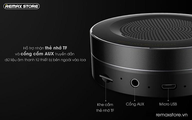 Loa Bluetooth tròn mini Remax RB - M13 - 11