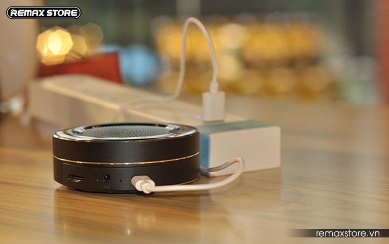 Loa Bluetooth tròn mini Remax RB - M13 - 16