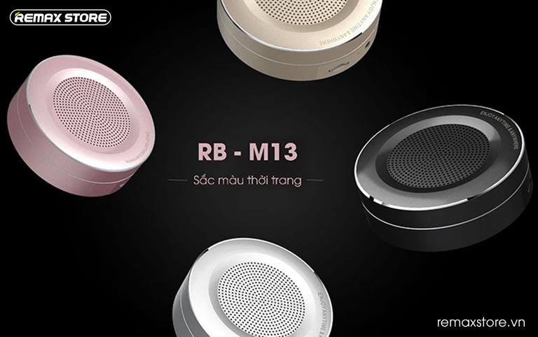 Loa Bluetooth tròn mini Remax RB - M13 - 20