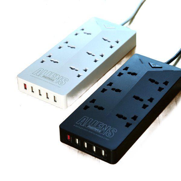 Ổ cắm điện thông minh có 5 cổng USB Remax RU - S4 - 1