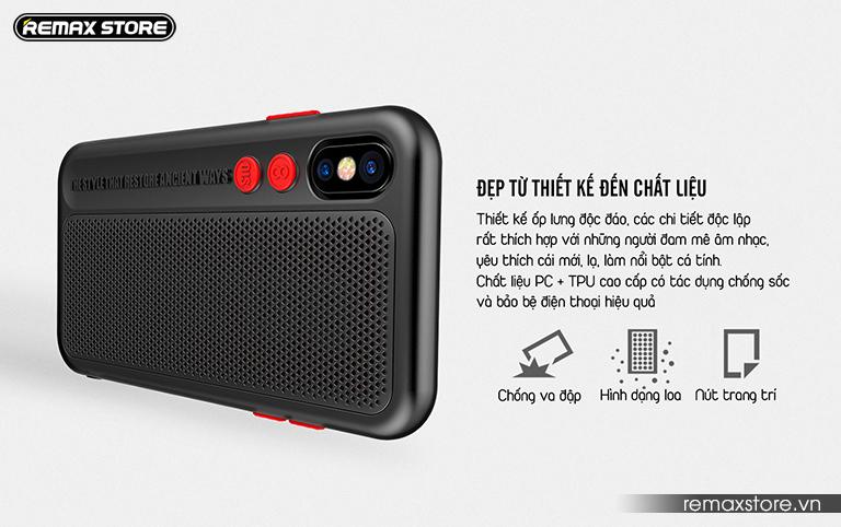 Ốp lưng điện thoại iPhone X Remax RM-1656 - Ảnh 3