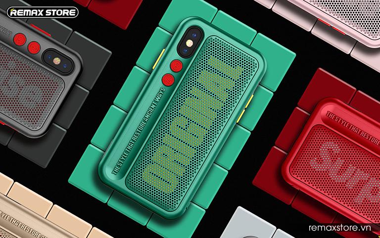 Ốp lưng điện thoại iPhone X Remax RM-1656 - Ảnh 4
