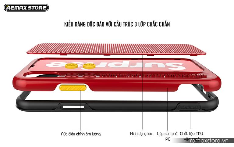 Ốp lưng điện thoại iPhone X Remax RM-1656 - Ảnh 5