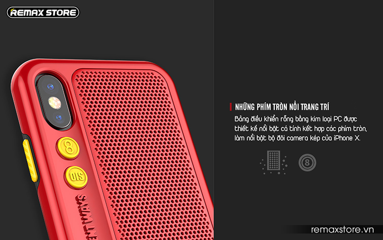Ốp lưng điện thoại iPhone X Remax RM-1656 - Ảnh 8