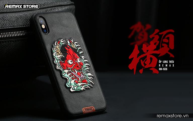 Ốp lưng thêu Remax RM-1636 - ảnh 2