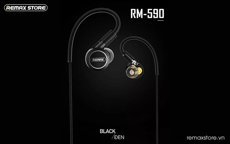 Tai nghe in-ear Remax RM-590 - Ảnh 12