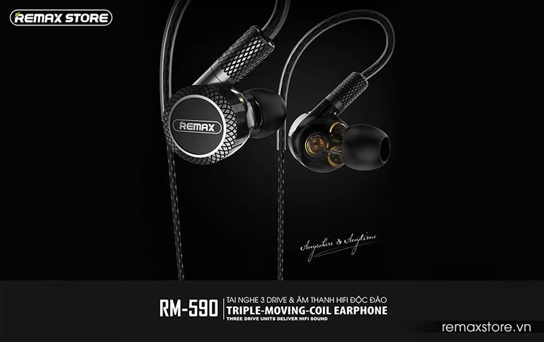 Tai nghe in-ear Remax RM-590 - Ảnh 2