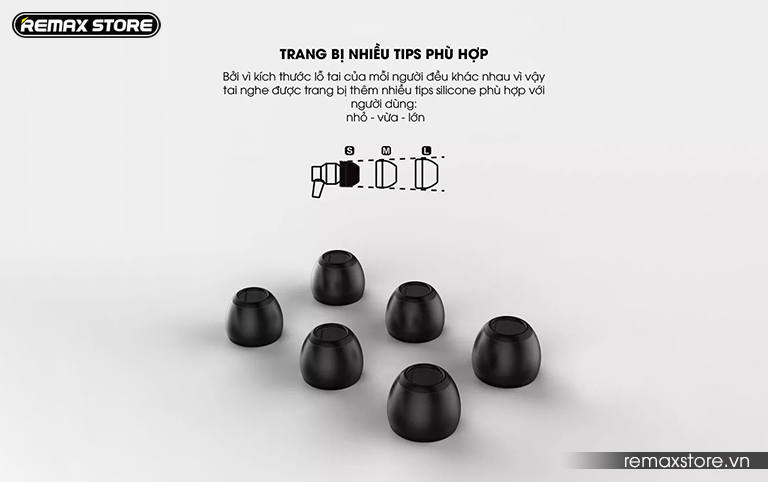 Tai nghe in-ear Remax RM-590 - Ảnh 8