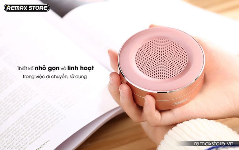 Loa Bluetooth tròn mini Remax RB - M13 - 7