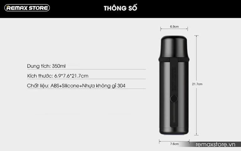 Bình nước giữ nhiệt Remax RT-CUP43 - 9