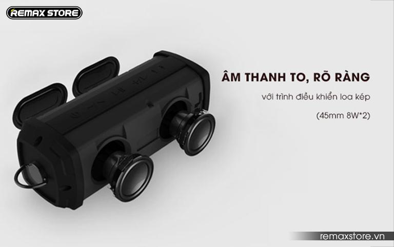 Loa Bluetooth xách tay chống nước Remax RB-M12 - 7