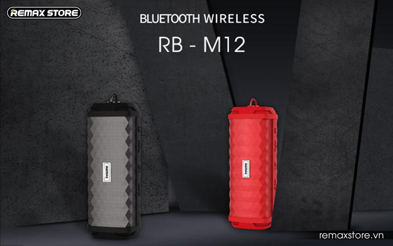 Loa Bluetooth xách tay chống nước Remax RB-M12 - 1
