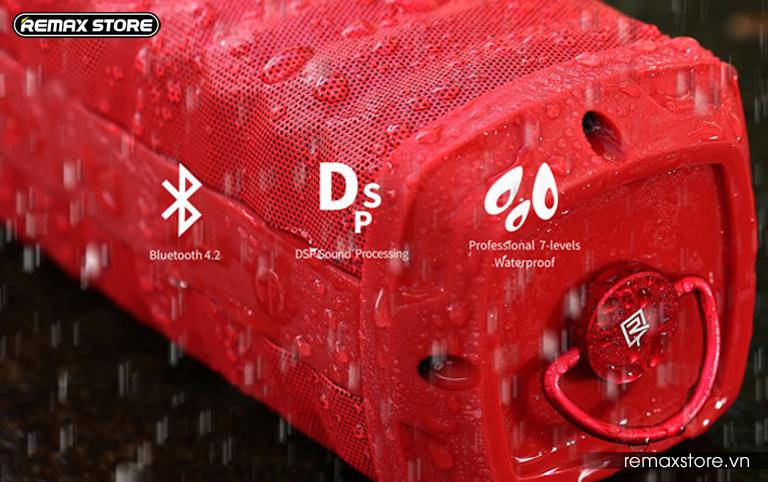 Loa Bluetooth xách tay chống nước Remax RB-M12 - 15