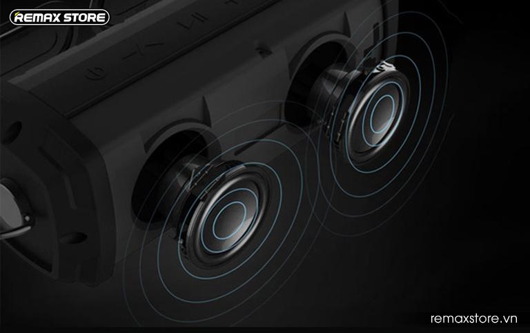 Loa Bluetooth xách tay chống nước Remax RB-M12 - 8