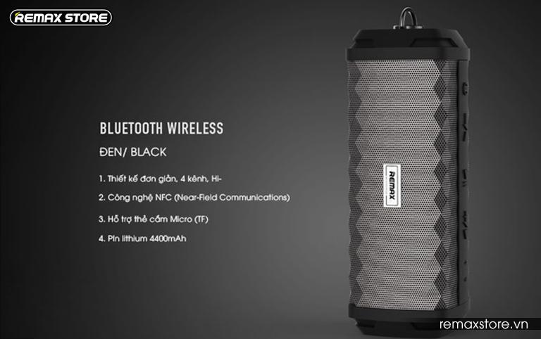 Loa Bluetooth xách tay chống nước Remax RB-M12 - 9