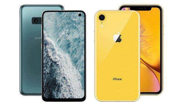 So sánh Galaxy S10E vs iPhone XR
